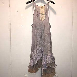 Free People Ruffled Slip Dress